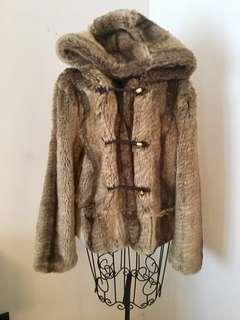 Juicy Couture Fur Coat L