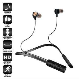 (REPRICED!!!) ORIGINAL Tylex TS003 Wireless Lightweight Neckband Headset (Black)