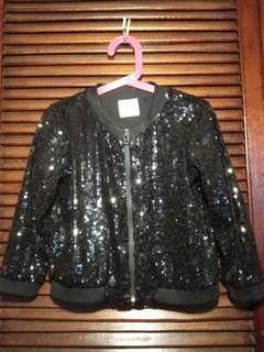 REPRICED!!!Cotton On sequenced jacket in black