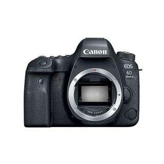 Special RENTAL Price January 2019 - CANON  6D MKII body Sewa Kamera / Camera Lens Rental