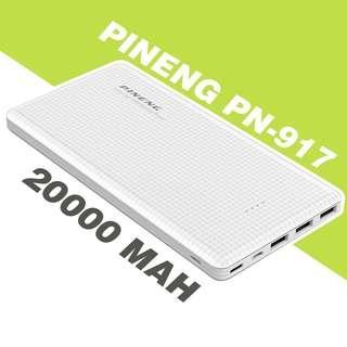 (REPRICED!!!) ORIGINAL Pineng 20,000mAh Powerbank (White)