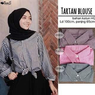 NEW Tartan blouse