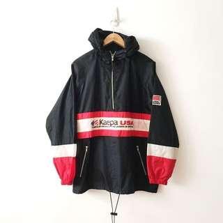 Kaepa Vintage Half Zip Windbreaker Jacket Hoodie