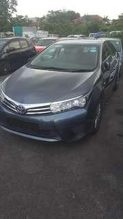 New Model Toyota Altis For Rental!! Weekly As Low As $455 Only!!