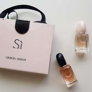 GIORGIO ARMANI - Si Fragrance Miniatures