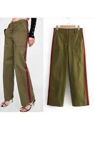 Kulot Jeans Green Army