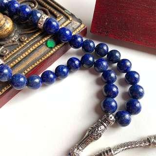Natural Lapis Lazuli Tasbih
