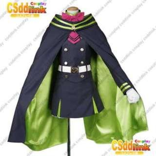 Shinoa Hiragi Cosplay Costume