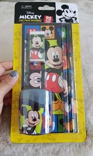 Authentic Mickey Mouse Stationery Set