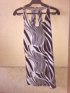 Pre-loved Stripe zebra dress
