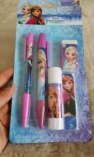 Authentic Disney Frozen Stationery Set