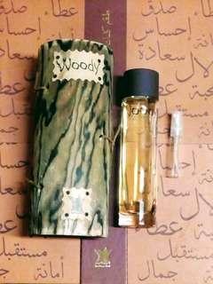 Arabian Oud Woody - Eau De Parfum 5ml Sample Spray EDP Perfume Oudh