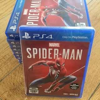 KASET PS4 SPIDERMAN REGION 2