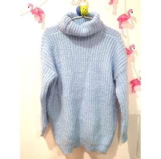 🚚 超暖厚款寬鬆高領毛衣💕