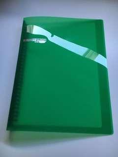 Green openable binder