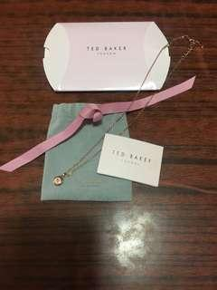 Brand New Ted Baker Necklace Rose gold