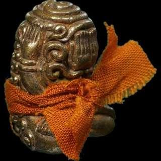 auth 2559 thai amulet phra pidta utamo 888 long phor lai wat na jomtien chonburi Thailand