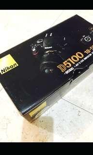 Kamera Nikon D5100 FREE tas LOWEPRO dan memory