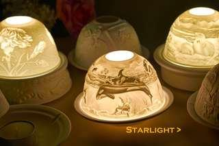 蠟燭台 星空燈座Hellmann Versand Starlight Tea light Candle Holder