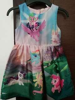 My little pony dress - like brand new