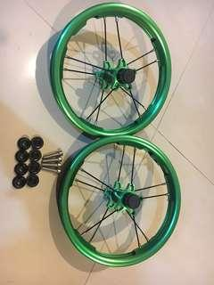 Wheelset for Strider/Hotaru Push Bike