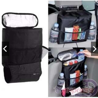 Baby bottle pocket bag organizer storage for car headrest (handheld thermos)