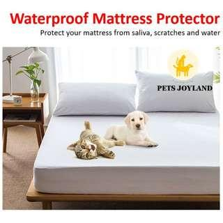 Waterproof Mattress Protector (Pet-Safe)