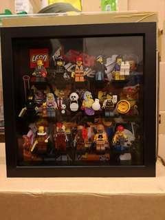 Lego Movie 71004 CMF Series with Custom Frame