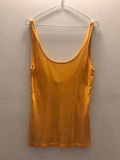 Kookai yellow singlet 1
