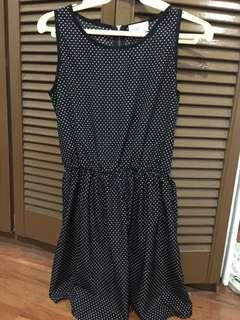 Black Polkadots dress