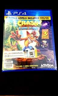 PS4 : CRASH BANDICOOT N.SANE TRILOGY
