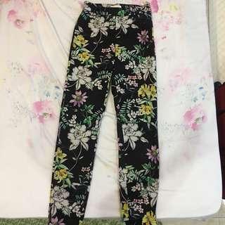 HM floral pants