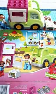 PL LEGO DUPLO UCE CREAM TRUCK PLAYED ONCE