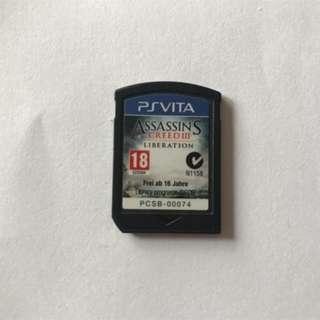 PS Vita Assassin's Creed iii Liberations R1 - No Box