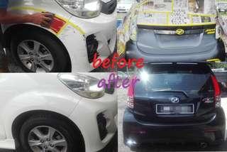 Promotion Car Paint Service