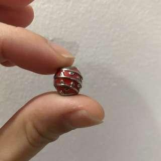 Pandora Red Vine Enamel Ball Charm