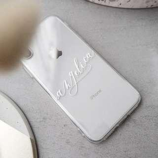 🚚 3D Custom case name initial