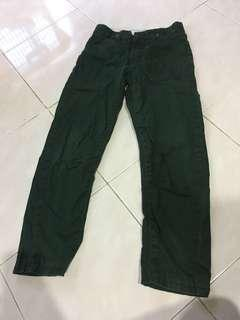Mothercare Boys Pants (dark green)-free post!