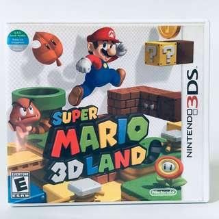 super mario 3d land game nintendo 3ds