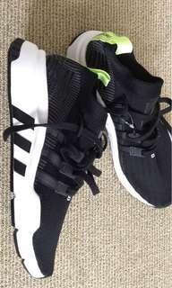 black adidas EQT