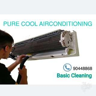 Purecool special! Basic clean for aircon
