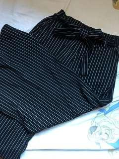 Pull&Bear Striped Culotte