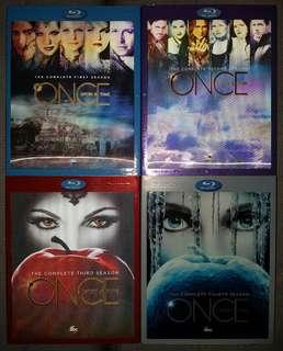 Once Upon A Time Season 1 to 4 Bluray with slipcase