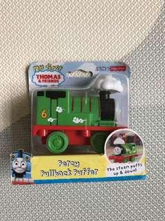 Brand new my first Thomas and Friends Percy Pullback Puffer Train -The steam puffs up and down! Thomas the train Fisher Price quality guaranteed