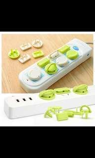 6 PCS/Set Electric Socket Protector