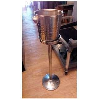 Champagne Bucket With I Shape Stand