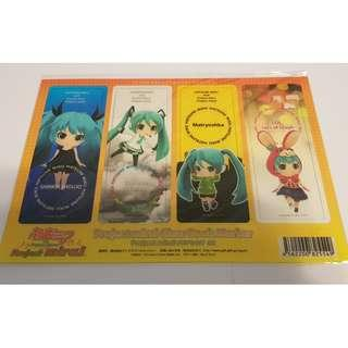 Project Mirai Clear Bookmark