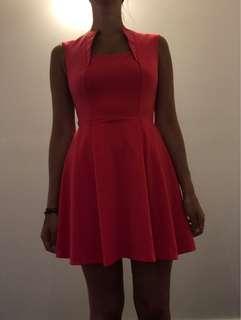 ASOS pink dress 6