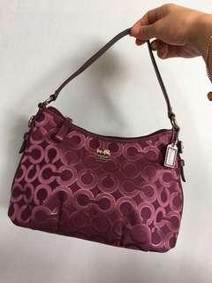 (Reduce)🆓Postage!!!Authentic Coach Handbag