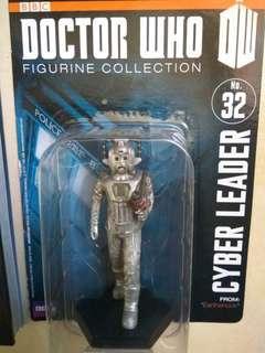 Cyberman statue